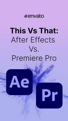 Which Video Editing Software is Right for Your Project? #PremierePro and #AfterEffects are two of the best video editing programs on the market. Both of these video editing programs offer a range of unique tools and features, and are the video software of choice for many filmmakers, videographers and content creators. Find out what is the right video editing software for your project on our blog.