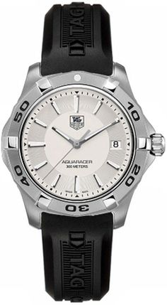 1b68351c7b52 Tag Heuer Aquaracer Silver Dial Men s Luxury Watch WAP1111.FT6029