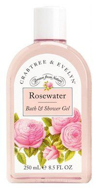Crabtree & Evelyn Classic Rosewater - Bath & Shower Gel - Value Size by Crabtree & Evelyn. $28.73. Scent: A delicate rose bouquet with fresh leafy green top notes. 16.9 fl oz. The simple distillation of rose petals and pure water is a classic English beauty tonic for the skin. For a luxurious shower or indulgent bubble bath, our rich cleansing gel leaves skin feeling soothed and delicately scented with Rosa centifolia - the legendary 100 petal rose cherished for its clear, ...