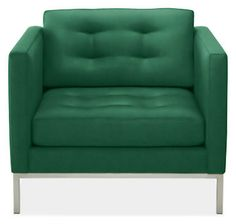 Sabine Chair & Ottoman - Chairs - Living - Room & Board