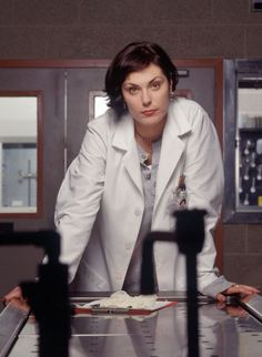 Michelle Forbes as  Dr. Julianna Cox. Homicide: Life on the Street