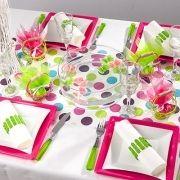 ma plus deco chemin de table 233 multicolore pr 233 d 233 coup 233 d 233 co de table de salle