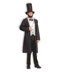 Another great find on #zulily! Abe Lincoln Costume Set - Men by Forum Novelties #zulilyfinds