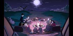 Anna Blue, Hero Wallpaper, Cartoon Art, Scream, Dawn, Creepy, Anime Art, Bands, Characters