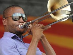 Trombone Shorty, a New Orleans favorite.
