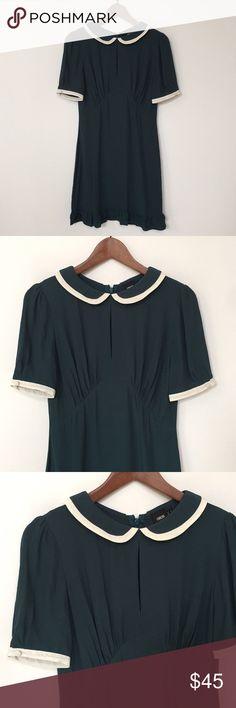 b2945866b ASOS Peter Pan Collar Dress Size 4 ASOS Peter Pan Collar Dress with a little  peek