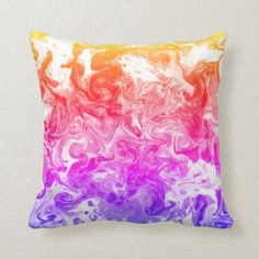 Pop of Color Pretty Swirl Pillow