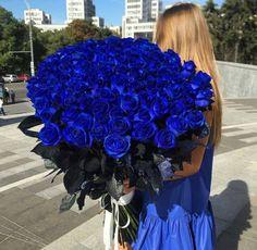 Mavi güller! #blue #roses