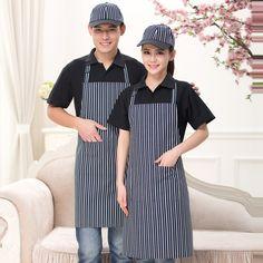2017 Chef Uniform Chef Uniform Hot Sale Polyester Men Aprons Broadcloth New Clothing Apron
