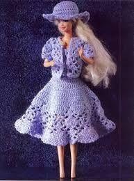 patrones de ropa de tela y tejida para barbie gratis - Buscar con Google