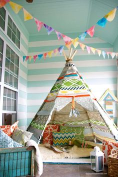 35 DIY Teepee Tutorials