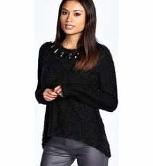 boohoo Lexi Jewelled Jumper - black azz26367 Go back to nature with your knits this season and add animal motifs to your must-haves. When youre not wrapping up in woodland warmers, nod to chunky Nordic knits and polo neck jumpers in peppered mar http://www.comparestoreprices.co.uk/womens-clothes/boohoo-lexi-jewelled-jumper--black-azz26367.asp