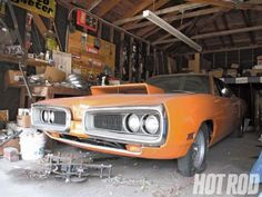 David Freiburger's 1970 Dodge Super Bee Unearthed - Rumble Bee Revival A Former Hot Rod Magazine Project Car Gets Unburied After 11 Years Of Neglect. From the July, 2010 issue of Hot Rod Magazine By David Freiburger Photography by David Freiburger
