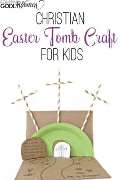 Wow! This Christian Easter craft is so amazing! I'm saving this for this year!