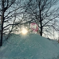 Winter and sun