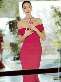 Marisa Berenson by Karen Radkai for Vogue Paris, November 1975