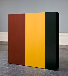 Anne Truitt (artist) American, 1921 - 2004 Knight's Heritage, 1963 acrylic on wood overall: x x cm x 60 x 12 in.) Gift of the Collectors Committee Abstract Sculpture, Sculpture Art, Sculptures, Peter Doig, National Gallery Of Art, Museum Exhibition, Installation Art, Art Installations, Sculpture
