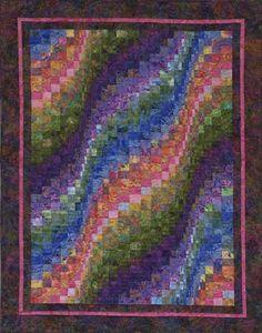 Bargello quilt