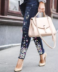 Business outfit with a twist Good Evening Love, We Wear, How To Wear, Perfect Together, All Black Outfit, Nude Heels, Business Outfits, Bucket Bag, Trousers