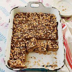 Peanut Butter-Chocolate-Oatmeal Cereal Bars | MyRecipes.com