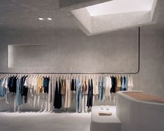 Kloke's Brutalist-Inspired Melbourne Store by David Goss   Yellowtrace