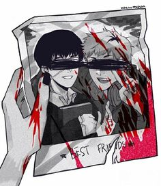 """This hurts my heart   Tokyo Ghoul   """"Hide...I'm sorry..."""""""