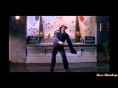 GENE KELLY - SINGING IN THE RAIN -- All-time best film sequence. And this is not spliced together from several efforts -- this happened in one full take, beginning to end. Genius!