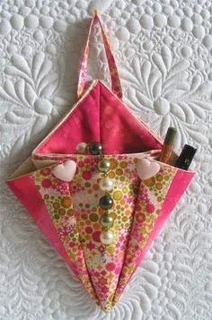 sac angle rangement couture