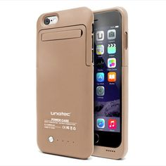 Funda Bateria Iphone6 Unotec Powercase Dorada