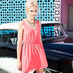 Flirty retro dress! #HMDIVIDED