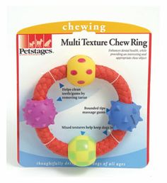 Nylon Flavoured Dog Chew Toy Ring **Tough **Choo Chum Mint And Chocolate 2 sizes