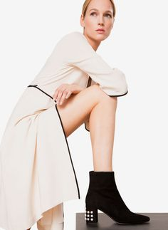Pearl ankle boots - View all - New in - Uterqüe Spain