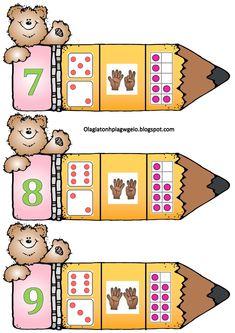 Preschool Worksheets, Math Activities, Math For Kids, Crafts For Kids, Writing Skills, Kids Education, Math Centers, In Kindergarten, Pre School