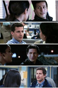 I just want someone to look at me the way Jake looks at Amy, Brooklyn 99