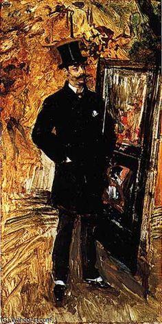 ferrara by Giovanni Boldini (1842-1931, Italy)