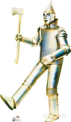 Advanced Graphics Tin Man Life Size Cardboard Cutout Standup -The Wizard of Oz Anniversary Film) Wizard Of Oz Movie, Wizard Of Oz 1939, Tin Man Costumes, Halloween Costumes, Diy Costumes, Life Size Cardboard Cutouts, Land Of Oz, The Wiz, Stand Up