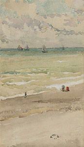 The Seashore, watercolour, Freer Gallery of Art, Washington, DC, M.1031