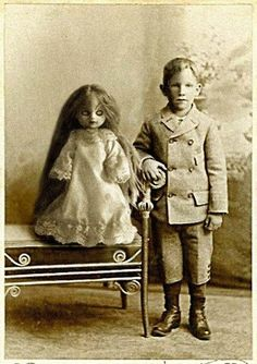Truly the SCARIEST DOLL on the face of the earth...what little boy would even want this???