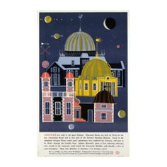 Greenwich Observatory - Transport for London Posters - Shop by range - Wallpaper | Fired Earth