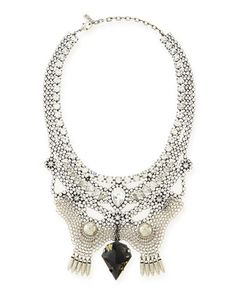 Crystal+Bib+Necklace+by+Dannijo+at+Neiman+Marcus.