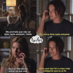 Pretty Little Liars Scandal Quotes, Glee Quotes, Scandal Abc, Pretty Little Liars Meme, Pretty Little Lies, Hanna E Caleb, Pll Frases, Pll Memes, Arrow Tv Shows
