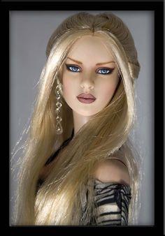 Bonnie - OOAK Doll Repaint by IvyHeartDesigns.deviantart.com on @deviantART