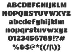 Titan One. Free font avilable for download.