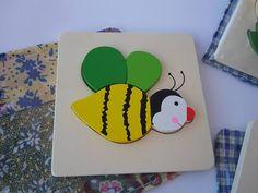 Ape #bee #wood #colours #handmade #children #games