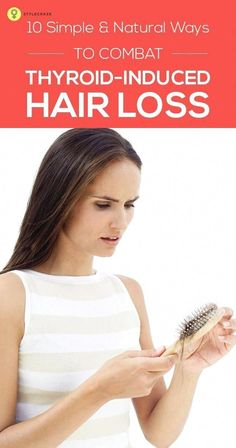 Thyroid dysfunction is one of the leading causes of hair loss in women. Given here are 8 simple measures you could take to combat thyroid induced hair loss. #WhyHairLoss #BestHairLossShampoo