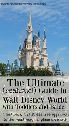 Going to Disney World is every kid's - big and small - dream vacation, but while the under 3 crowd gets in free, it can be difficult to manage a trip to Walt Disney World with toddlers and babies. Here is a comprehensive and realistic guide to a relaxed and stress-free trip to Walt Disney World with little kids.