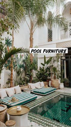 Small Backyard Pools, Backyard Patio, Backyard Ideas, Backyard Landscaping, Outdoor Spaces, Outdoor Living, Outdoor Decor, Exterior Design, Interior And Exterior
