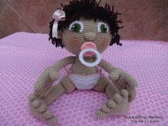 Mirando en diferentes blogs encontré un bebe con pañales muy gracioso.   Desde un primer momento me gustó la idea, así que busqué por tod...