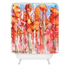 Rosie Brown Awesome Autumn Shower Curtain | DENY Designs Home Accessories   #shower #curtain #bath #homedecor #art #denydesigns