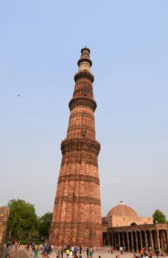 Qutab Minar, Nueva Delhi / Qutab Minar, New Delhi India Travel, Pisa, Tower, Building, New Delhi, Rook, Lathe, Buildings
